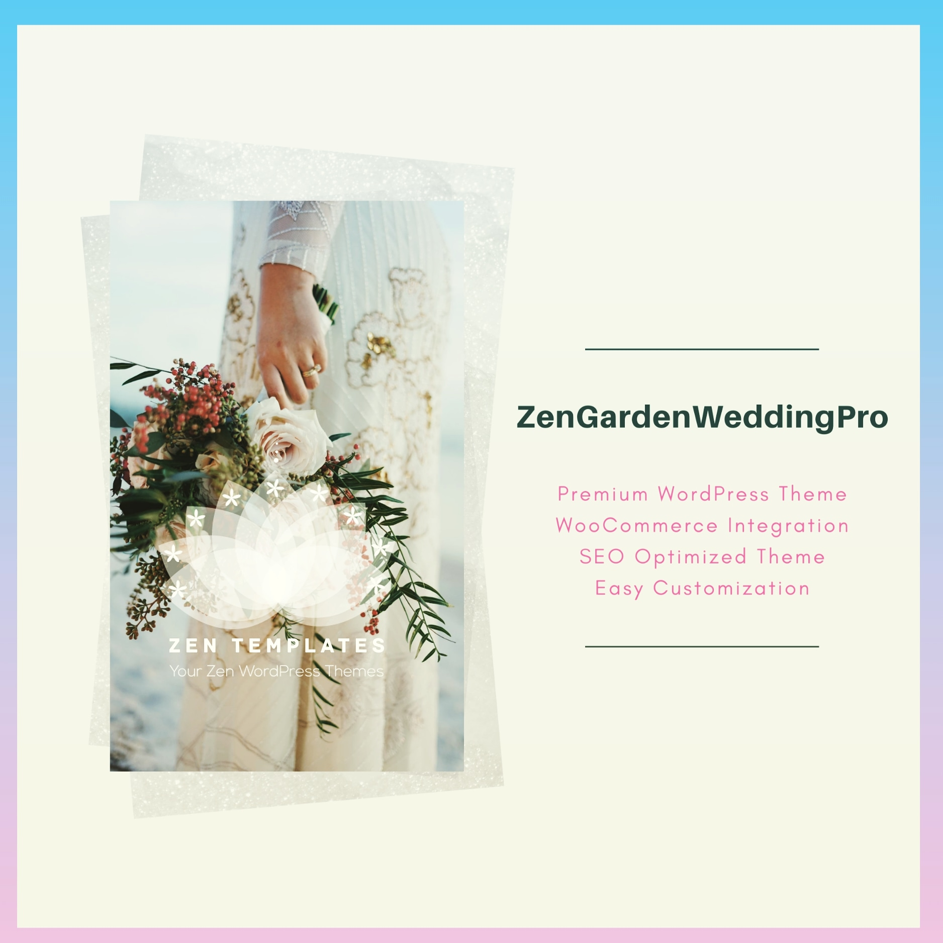 zengardenweddingpro - premium wordpress theme