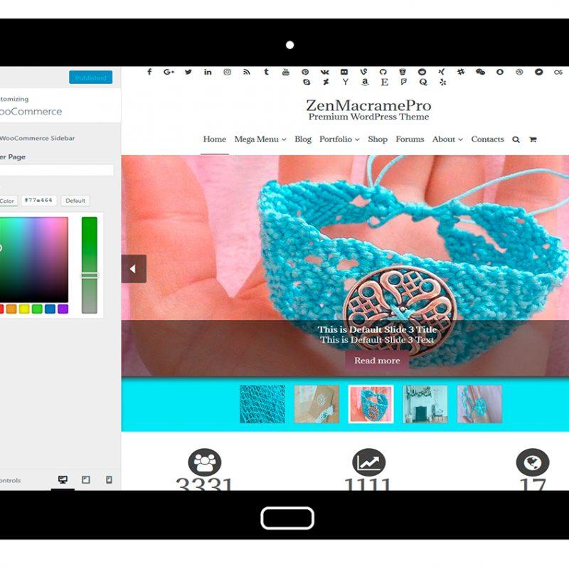 ZenMacramePro-customizing-WooCommerce