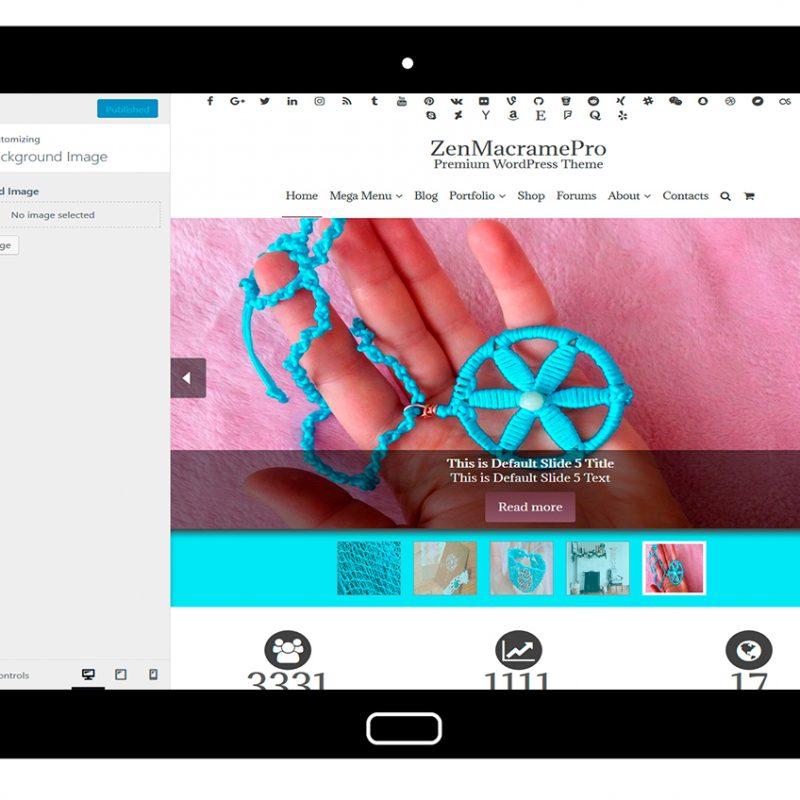 ZenMacramePro-customizing-background-image
