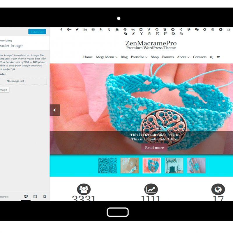 ZenMacramePro-customizing-header-image