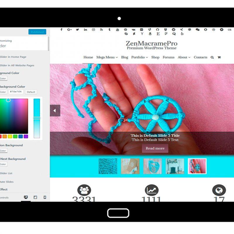ZenMacramePro-customizing-slider