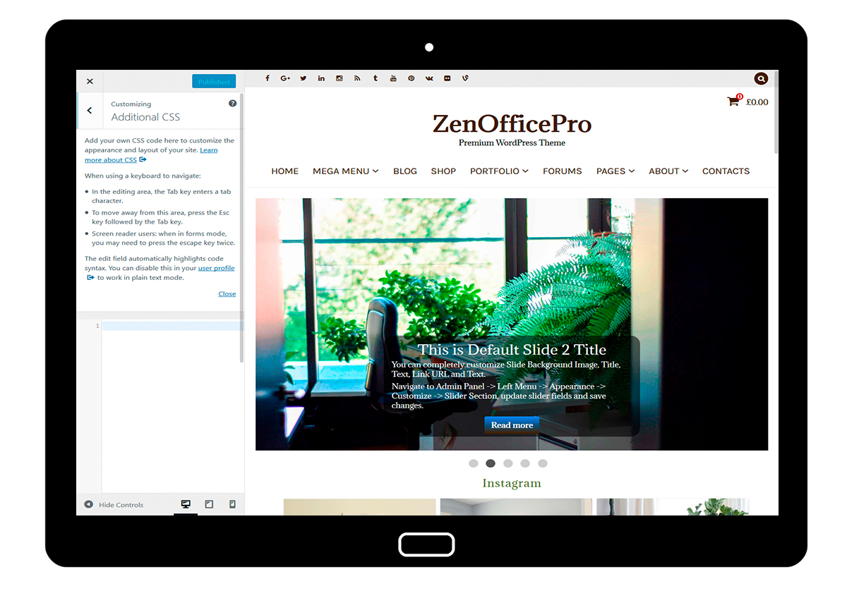 ZenOfficePro-customizing-additional-css