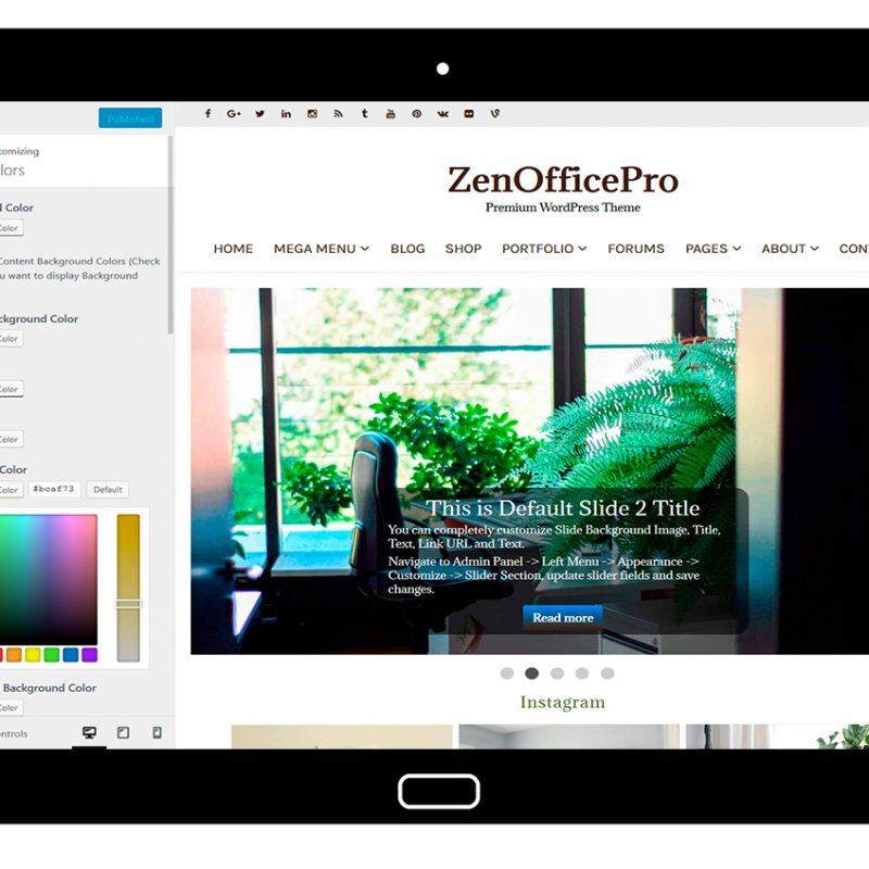 ZenOfficePro-customizing-colors
