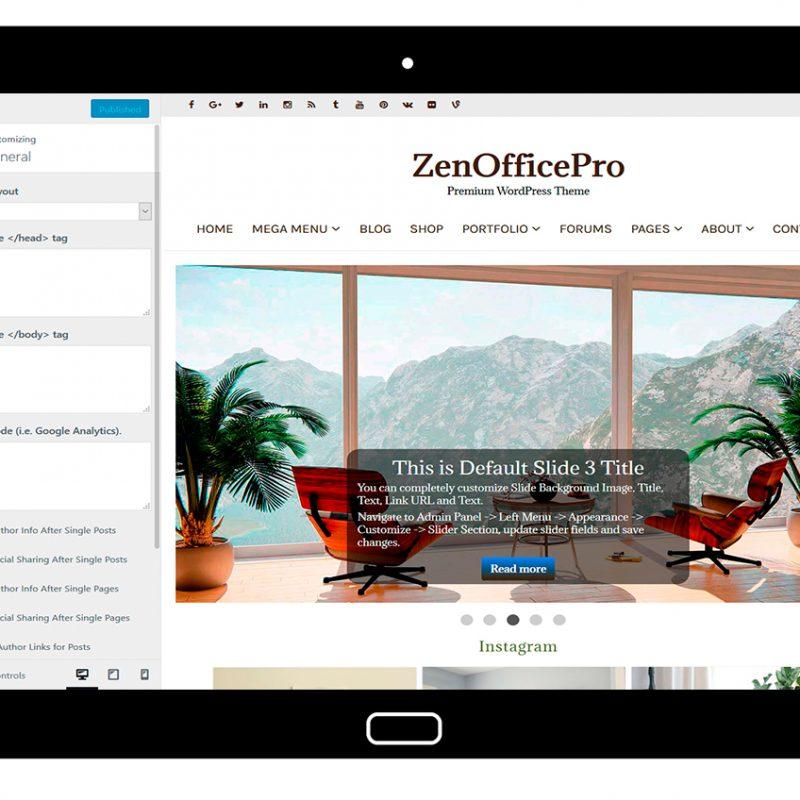 ZenOfficePro-customizing-general