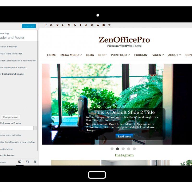 ZenOfficePro-customizing-header-and-footer