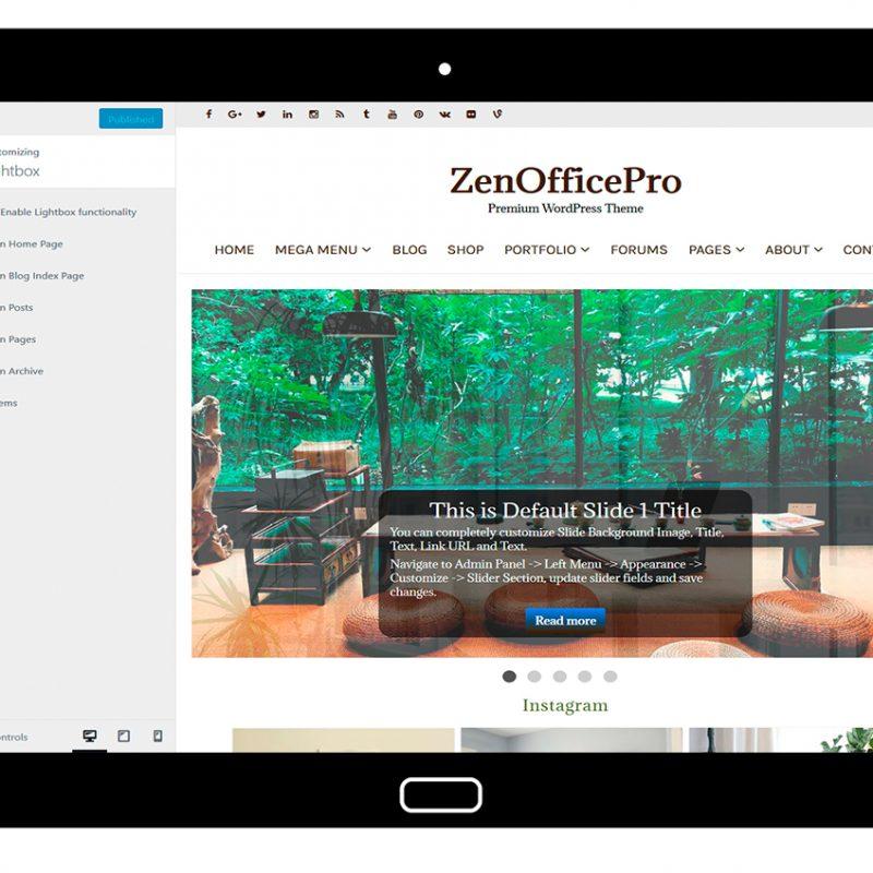 ZenOfficePro-customizing-lightbox