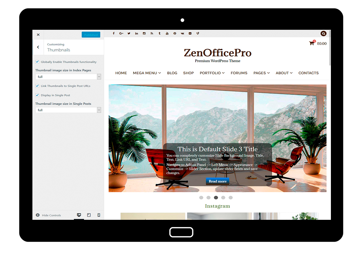 ZenOfficePro-customizing-thumbnails