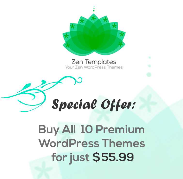 all-premium-wp-theme-zentemplates-special-offer