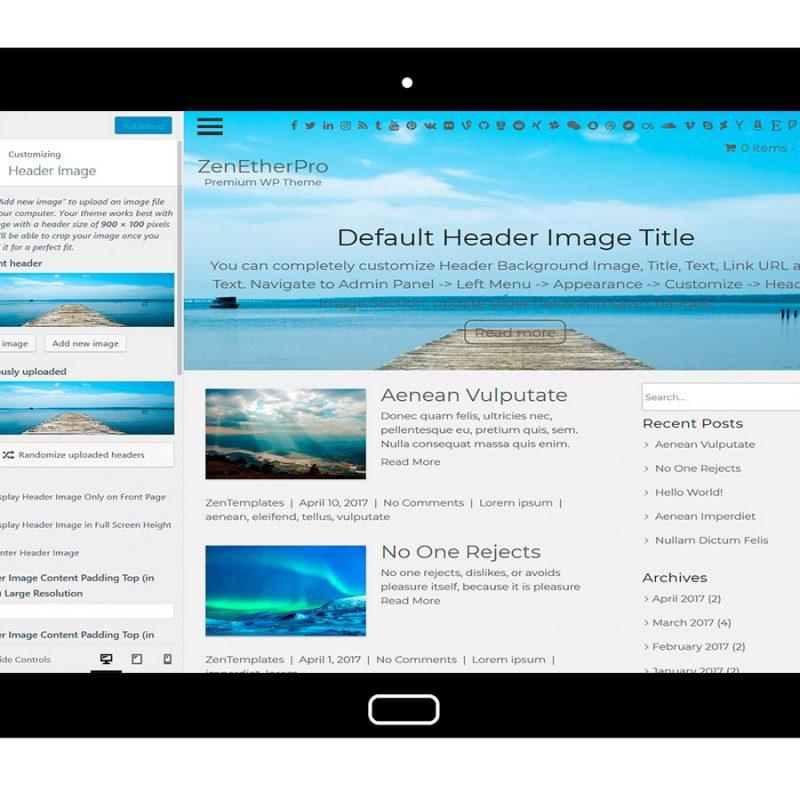 zenetherpro-customizing-header-image