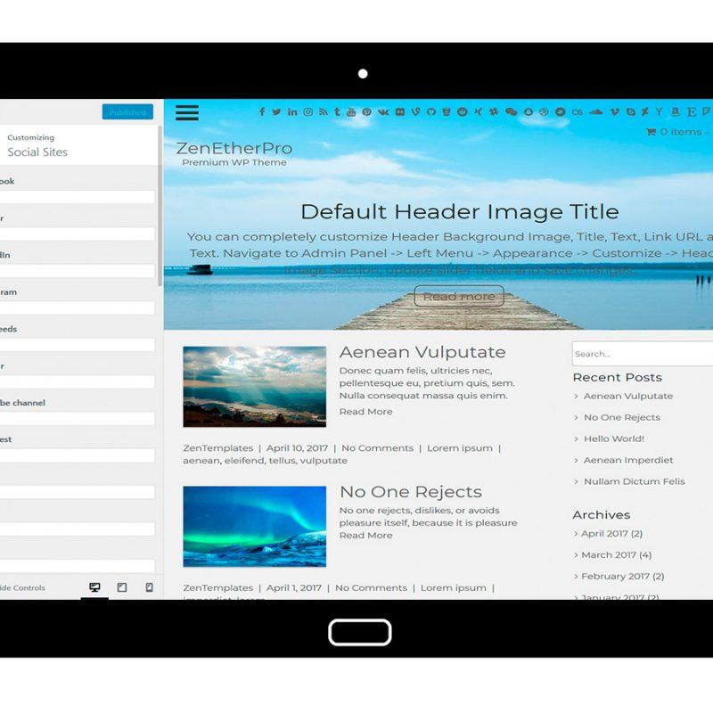 zenetherpro-customizing-social-sites